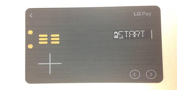 Фото - LG Pay реализуют в виде «умной» платёжной карты»
