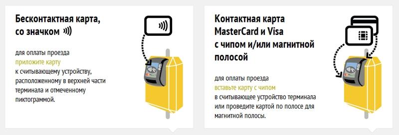 Фото - Впервые в России в наземном транспорте совмещены контактный и бесконтактный приём банковских карт»